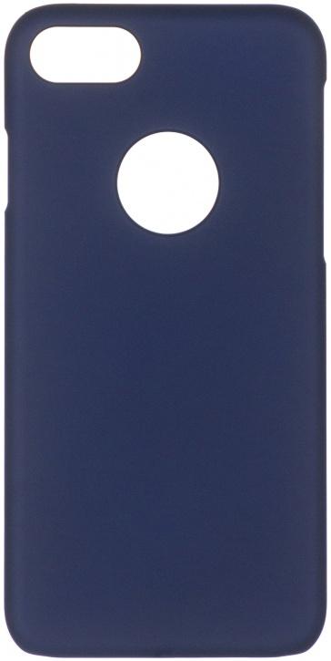 Чехол клип-кейс iCover Rubber для Apple iPhone 7 (синий)