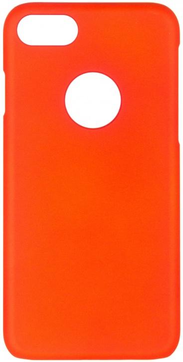Чехол клип-кейс iCover Rubber для Apple iPhone 7 (оранжевый,матовый)