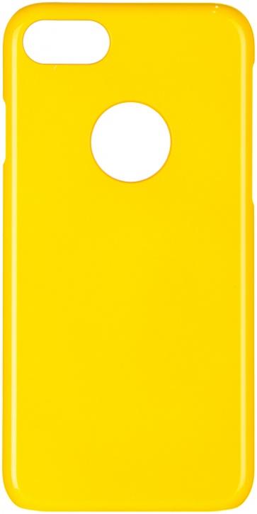 Чехол клип-кейс iCover Rubber для Apple iPhone 7 (желтый,матовый)