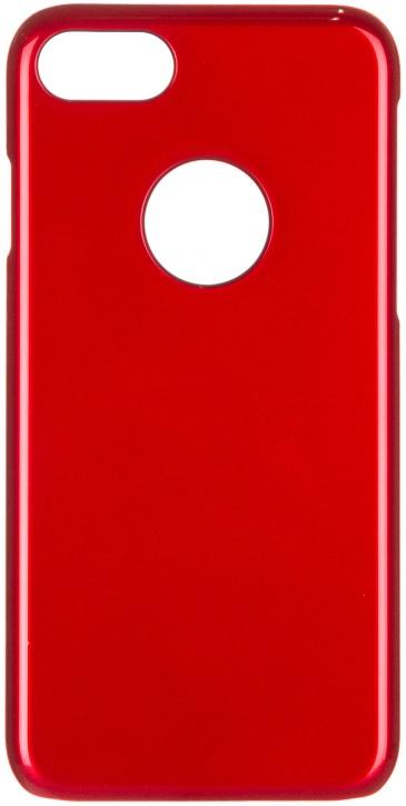 Чехол клип-кейс iCover Glossy для Apple iPhone 7 (красный,глянцевый)