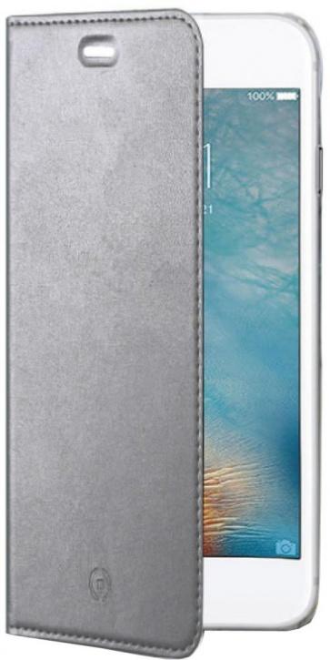 Чехол-книжка Celly Air для Apple iPhone 7 (серебристый)