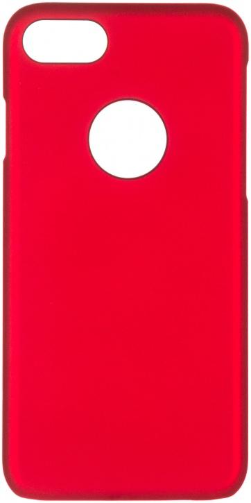 Клип-кейс ICover Rubber для Apple iPhone 7 (красный,матовый)