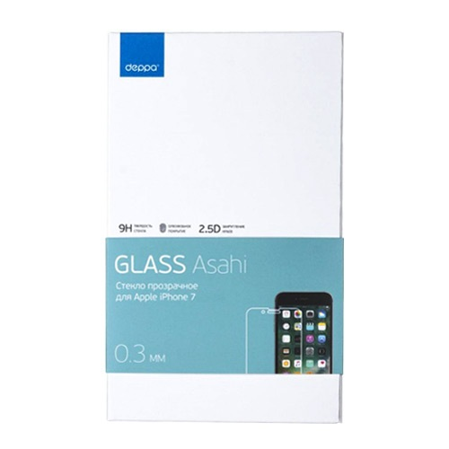 Защитное стекло Deppa Asahi для Apple iPhone 7/8