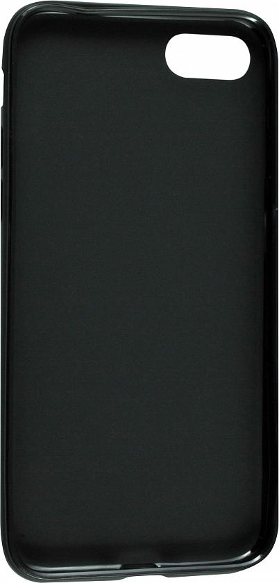 Чехол клип-кейс матовый для Apple iPhone 7/8 (черный)