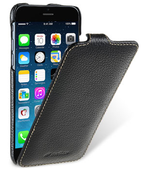 Чехол флип-кейс кожанный Melkco Jacka Type для Apple iPhone 7/8  (чёрный)