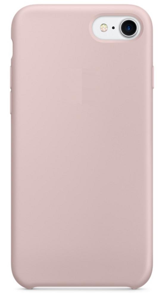 Чехол клип-кейс Apple силиконовый для iPhone 7/8 «розовый песок» (реплика)