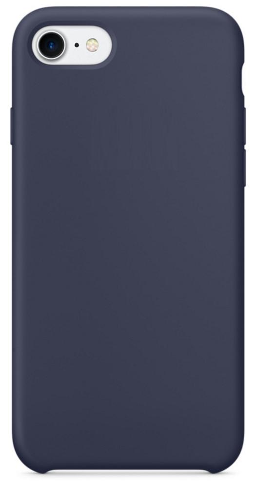 Чехол клип-кейс Apple силиконовый для iPhone 7/8 «тёмно-синий» (реплика)