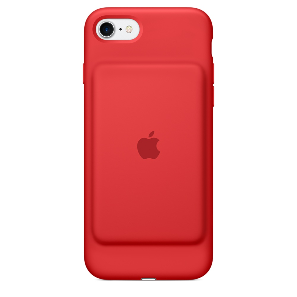 Чехол-аккумулятор Apple Smart Battery Case для iPhone 7/8  MN022 (красный)