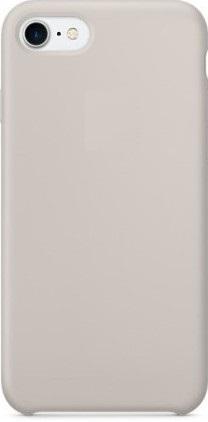 Чехол клип-кейс силиконовый Apple Silicone Case для iPhone 7/8 (реплика, бежевый)