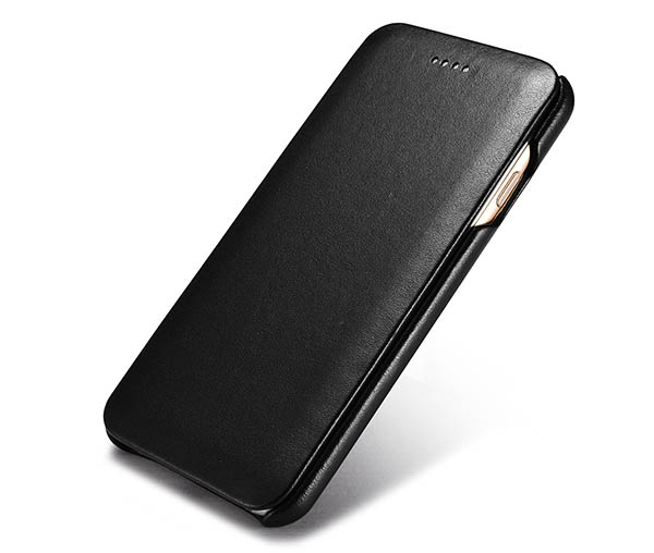 Чехол-книжка Icarer rip704-bk для iPhone 7/8 (черный)