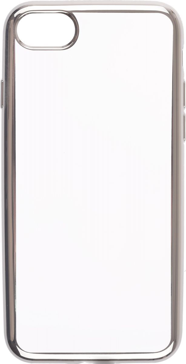 Чехол клип-кейс Deppa Gel Plus Case для Apple iPhone 7/8 (85254) серебро
