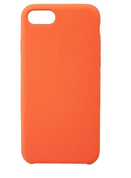 Чехол клип-кейс Apple силиконовый для iPhone 7/8  оранжевый  (реплика)