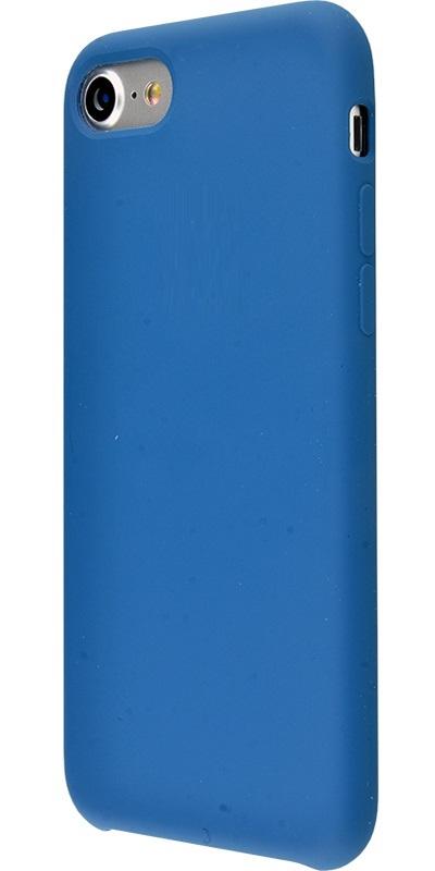 Чехол клип-кейс Apple силиконовый для iPhone 7/8 ярко-синий (реплика)