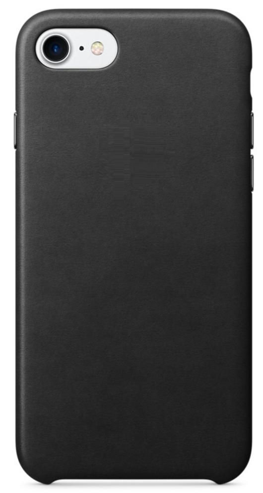 Чехол клип-кейс Apple под кожу для iPhone 7/8  чёрный (реплика)