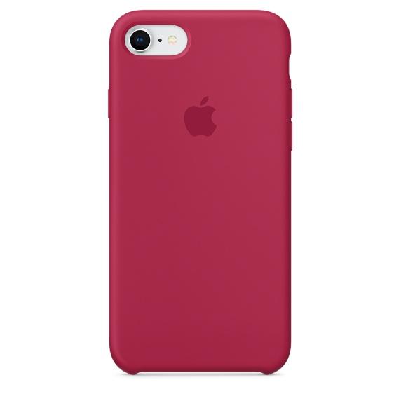 Чехол клип-кейс силиконовый Apple Silicone Case для iPhone 7/8, цвет «красная роза» (MQGT2ZM/A)