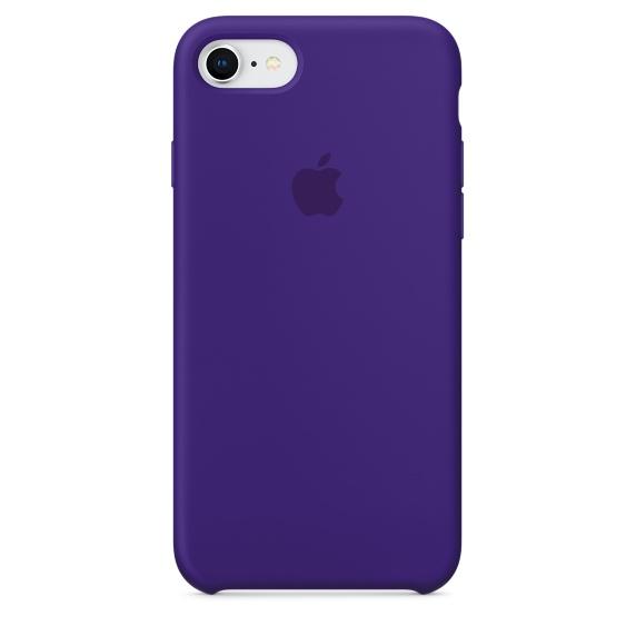 Чехол клип-кейс Apple силиконовый для iPhone 7/8 MQGR2ZM/A(цвет «ультрафиолет»)