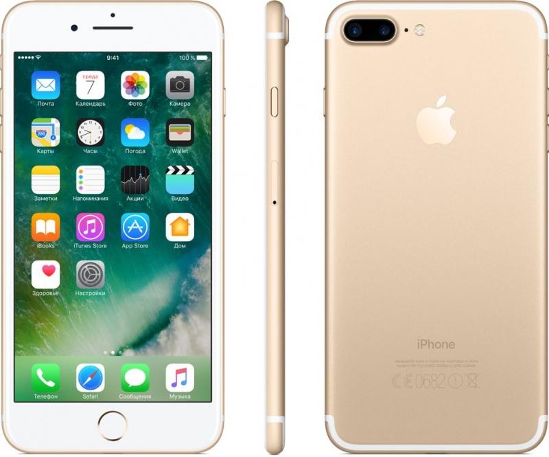 Apple iPhone 7 Plus 128GB Gold (Золотой) был залочен