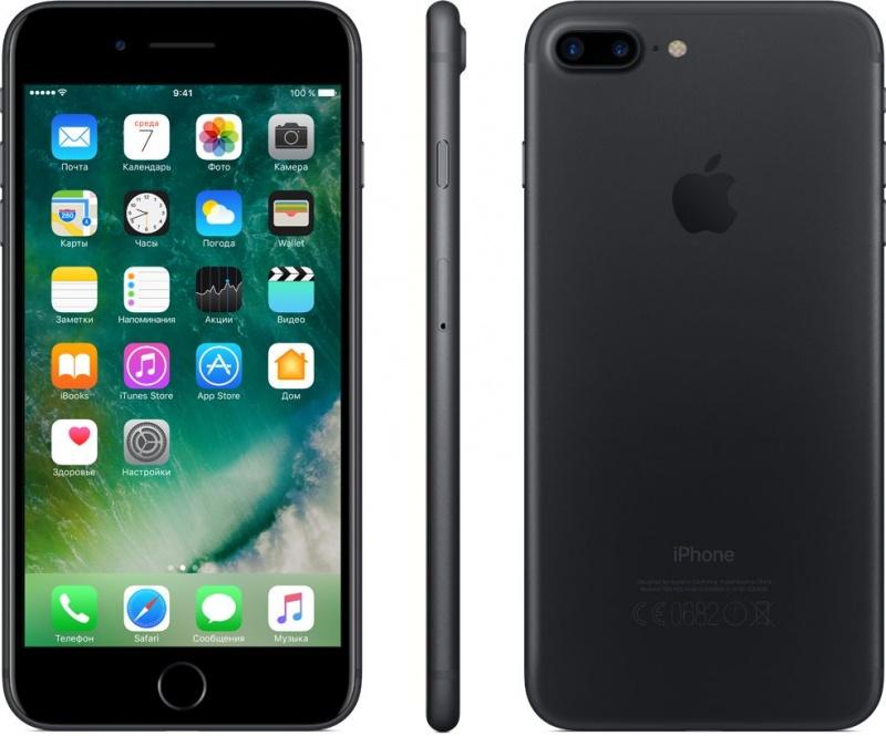 Apple iPhone 7 Plus 128GB Black (чёрный) - официальная замена