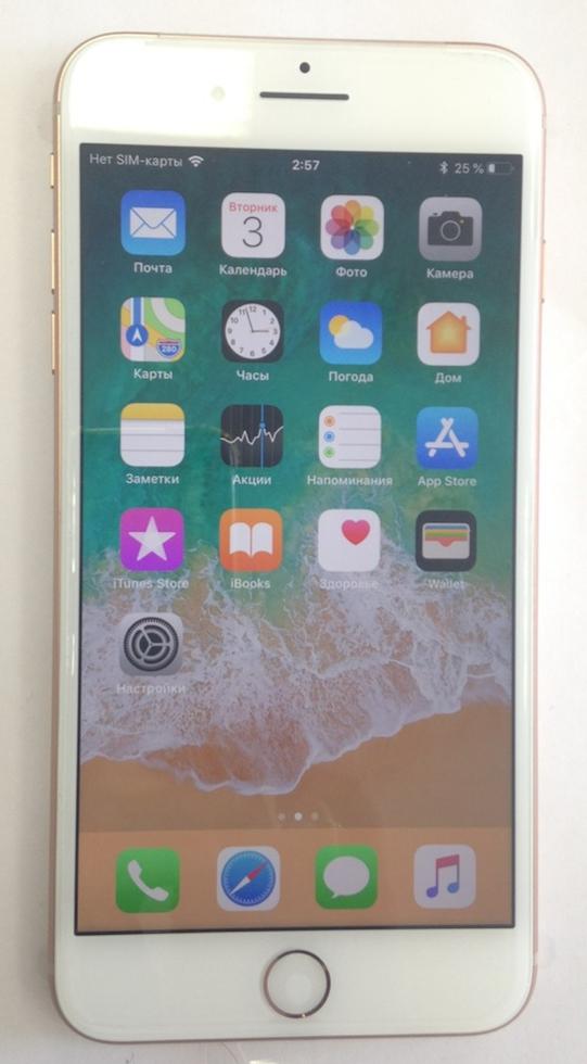 Apple iPhone 8 Plus 256GB (золотистый) разлочен