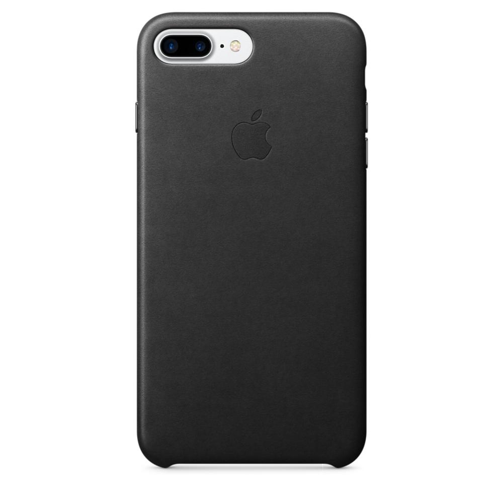 Кожаный чехол для iPhone 7 Plus/8 Plus, чёрный цвет (MQHM2ZM/A)