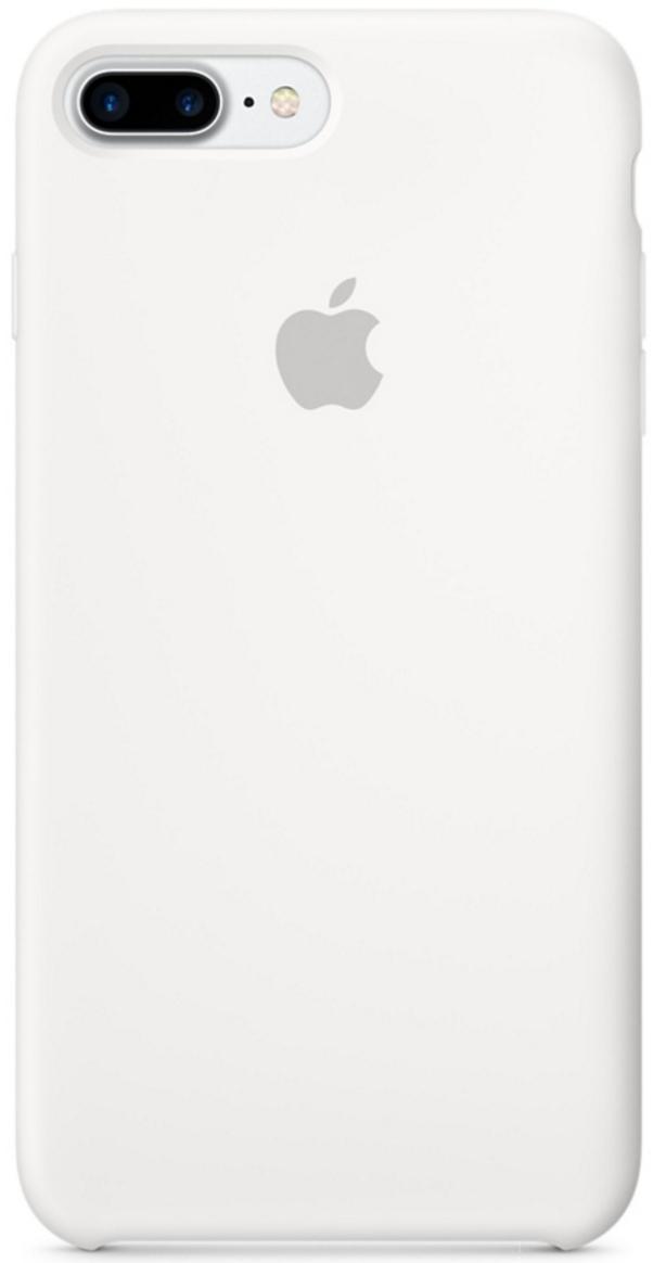 Чехол клип-кейс силиконовый Apple Silicone Case для iPhone 7 Plus/8 Plus, белый цвет (MQGX2ZM/A)