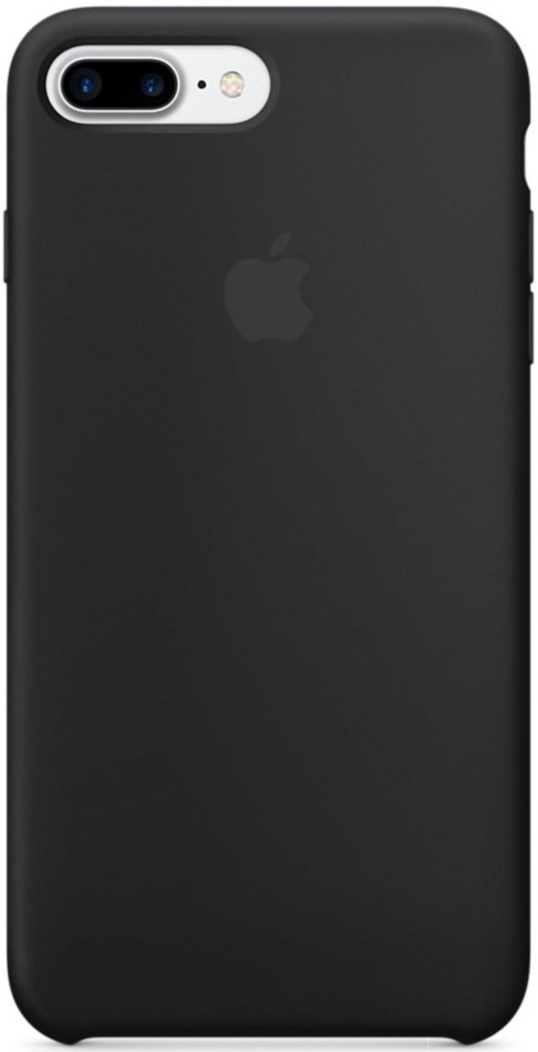 Силиконовый чехол для iPhone 7 Plus (чёрный)