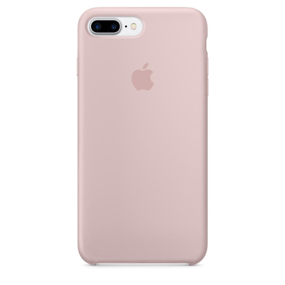 Чехол клип-кейс Apple силиконовый для iPhone 7 Plus (розовый песок)