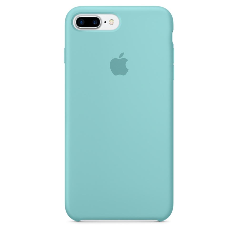 Чехол клип-кейс Apple силиконовый для iPhone 7 Plus (синее море)