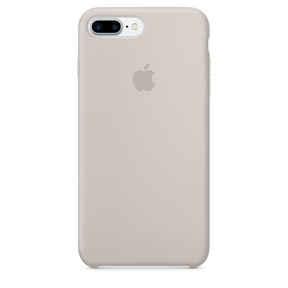 Чехол клип-кейс Apple силиконовый для iPhone 7 Plus (бежевый)