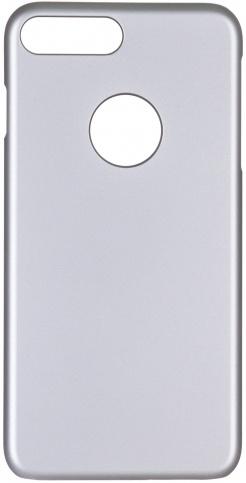 Чехол клип-кейс iCover Rubber для Apple iPhone 7 Plus (серебристый,матовый)