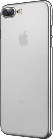 Чехол клип-кейс Takeit Metal Slim для Apple iPhone 7 Plus (серебристый)