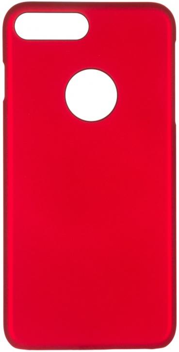 Чехол клип-кейс iCover Rubber для Apple iPhone 7 Plus (красный,матовый)