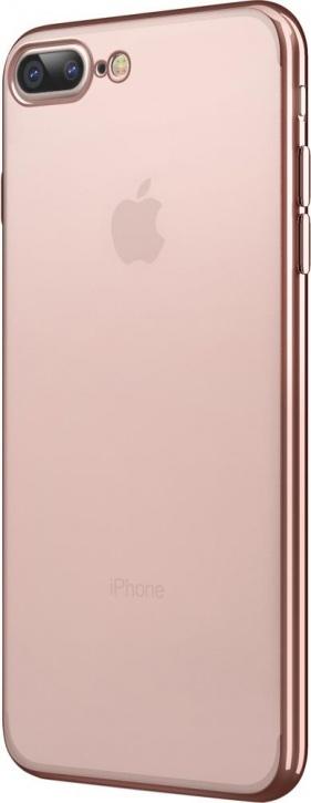 Чехол клип-кейс Takeit Metal Slim для Apple iPhone 7 Plus (розовое золото)