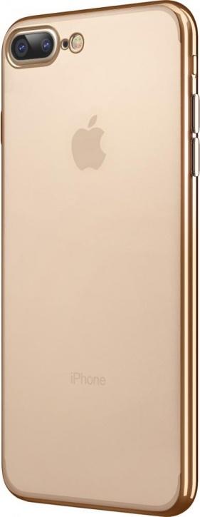 Чехол клип-кейс Takeit Metal Slim для Apple iPhone 7 Plus (золотистый)