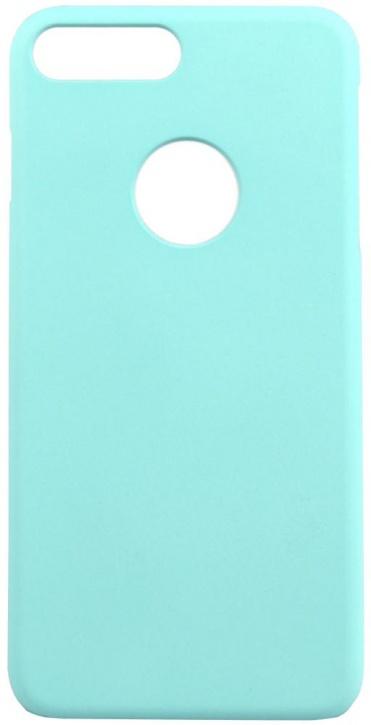 Чехол клип-кейс iCover Rubber для Apple iPhone 7 Plus (голубой,матовый)