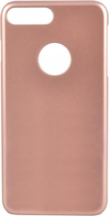 Чехол клип-кейс iCover Glossy для Apple iPhone 7 Plus (розовое золото,глянцевый)