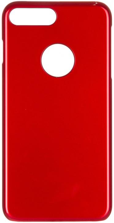 Чехол клип-кейс ICover Glossy для Apple iPhone 7 Plus (красный,глянцевый)