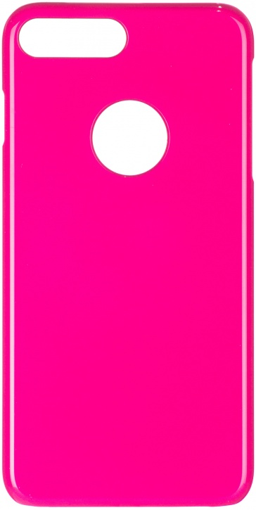 Чехол клип-кейс ICover Rubber для Apple iPhone 7 Plus (розовый,матовый)