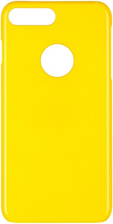 Чехол клип-кейс iCover Rubber для Apple iPhone 7 Plus (желтый,матовый)