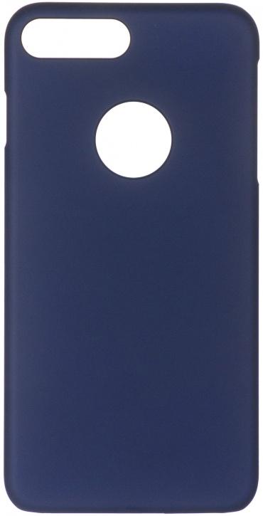 Чехол клип-кейс iCover Rubber для Apple iPhone 7 Plus (синий,матовый)