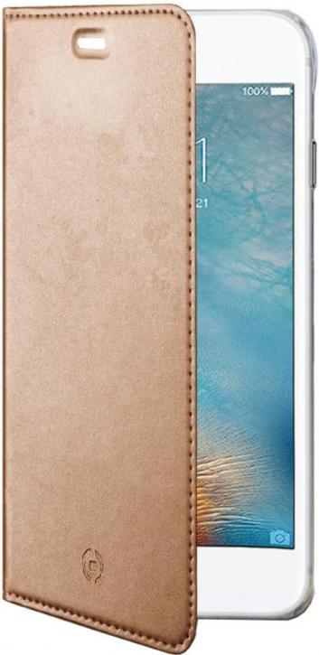 Чехол-книжка Celly Air для Apple iPhone 7 Plus (розовое золото)