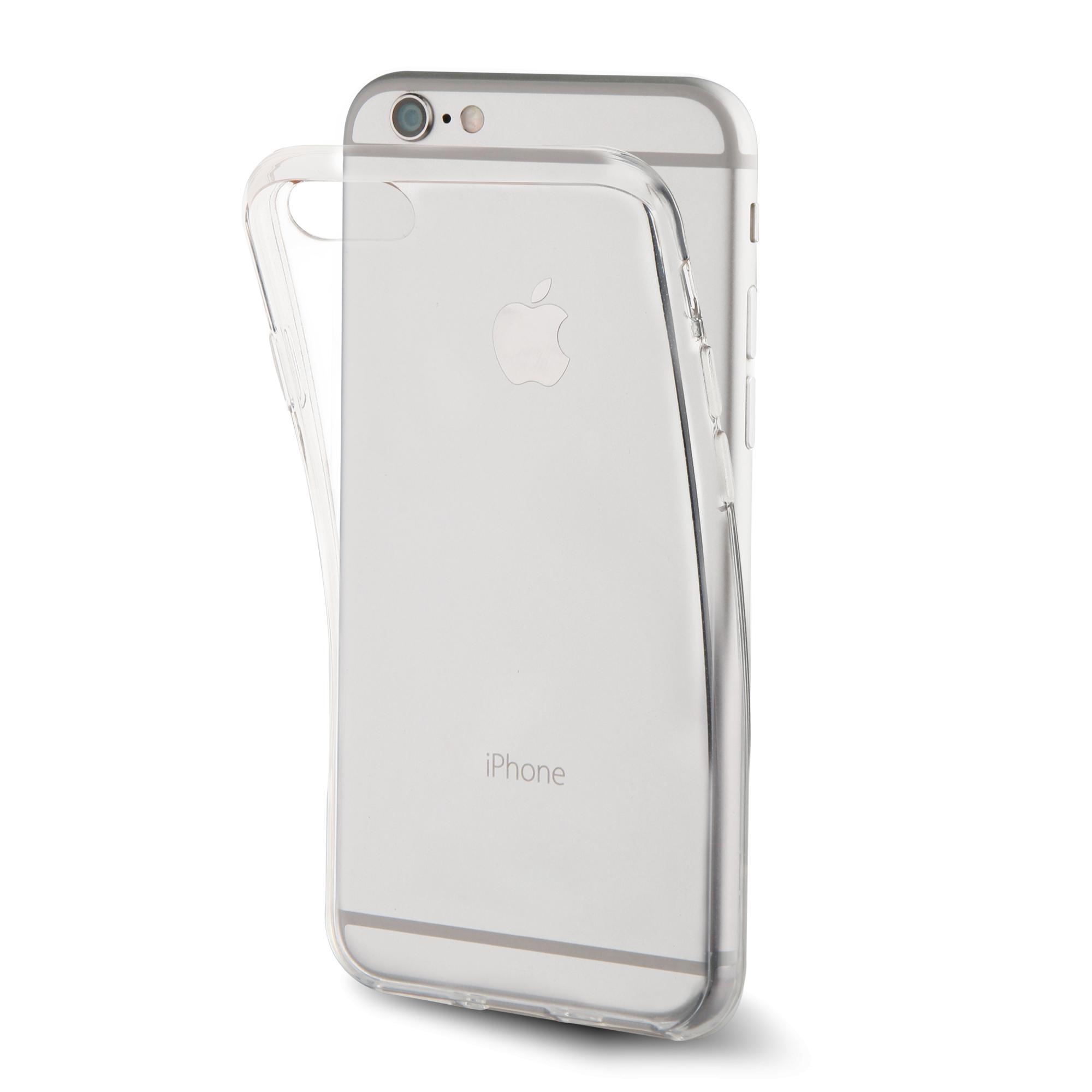 Чехол клип-кейс Muvit Crystal для Apple iPhone 7 Plus (прозрачный)