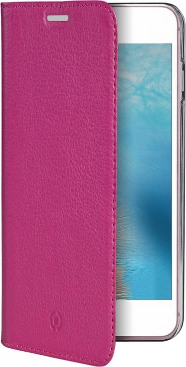 Чехол-книжка Celly Air Pelle для Apple iPhone 7 Plus (розовый)