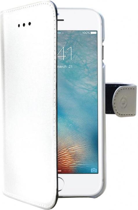 Чехол-книжка Celly Wally для Apple iPhone 7 Plus (белый)