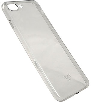 Чехол клип-кейс Uniq Glase для iPhone 7 Plus (серый)