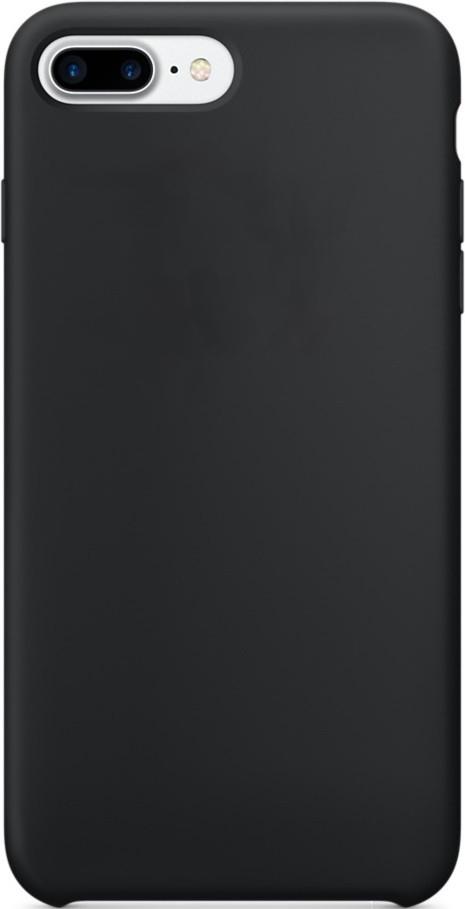 Чехол клип-кейс силиконовый Apple Silicone Case для iPhone 7 Plus/8 Plus (реплика, черный)