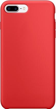 Чехол клип-кейс силиконовый Apple Silicone Case для iPhone 7 Plus/8 Plus (реплика, красный)