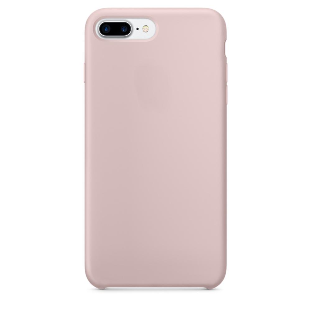 Чехол клип-кейс силиконовый Apple Silicone Case для iPhone 7 Plus/8 Plus (реплика, розовый)
