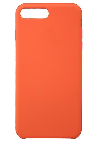 Чехол клип-кейс силиконовый Apple Silicone Case для iPhone 7 Plus/8 Plus (оранжевый)