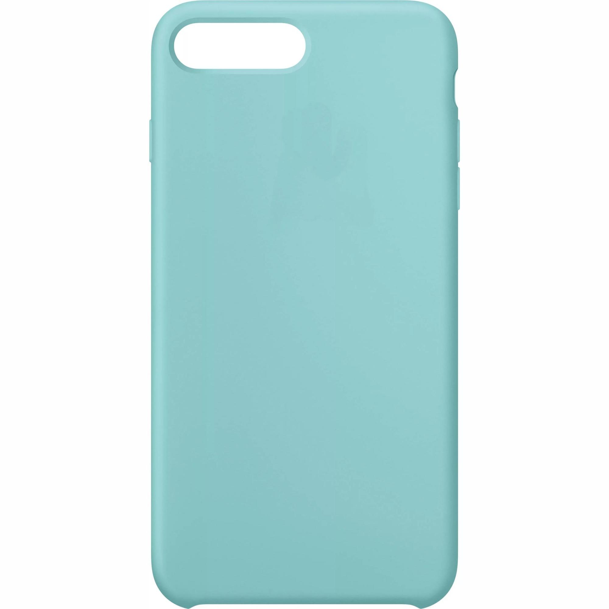 Чехол клип-кейс силиконовый Apple Silicone Case для iPhone 7 Plus/8 Plus (реплика, голубой)